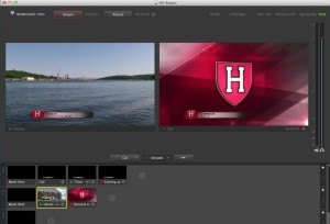Wirecast Rowing Setup (actually showing Wirecast 5.0 from last year)