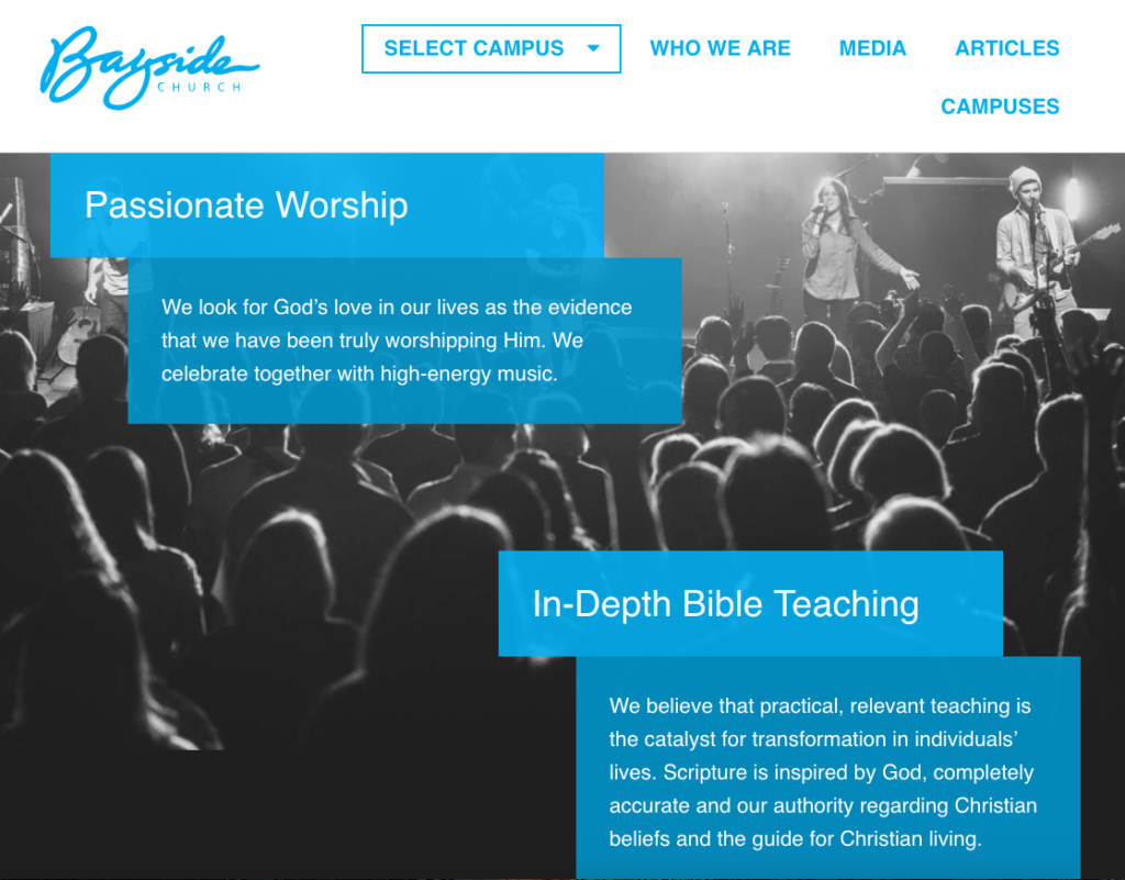 21 Best Church Websites-13
