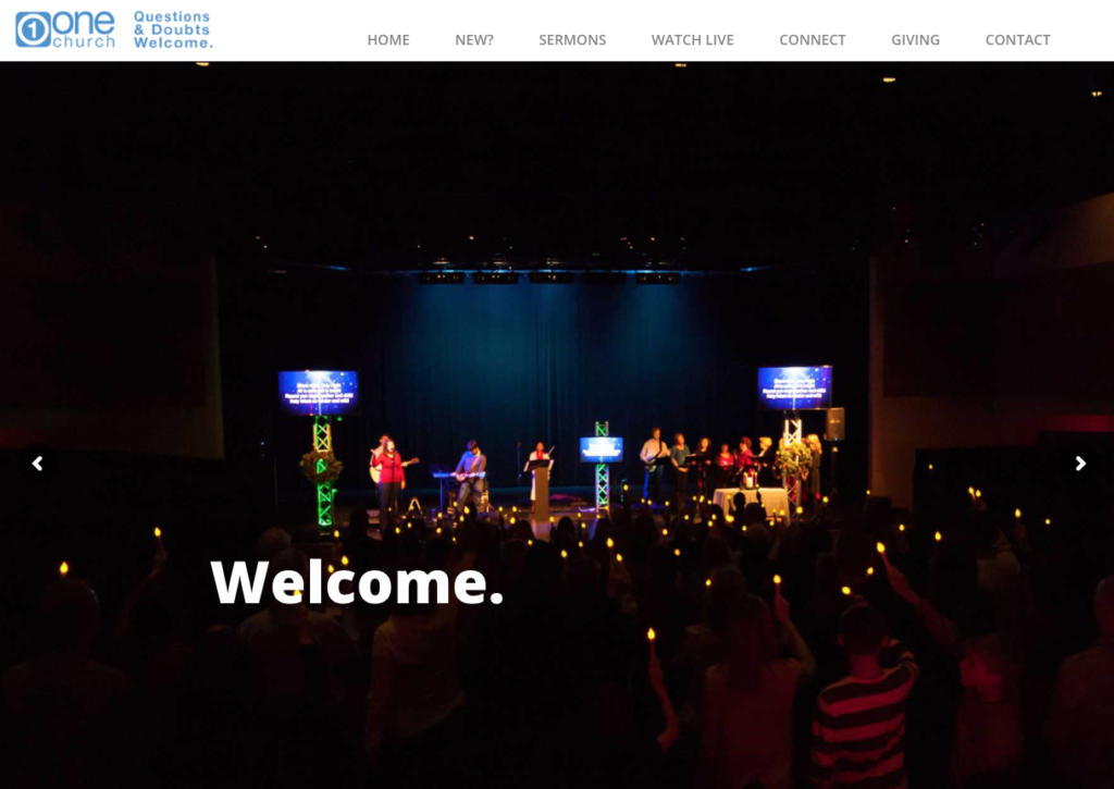 21 Best Church Websites-2