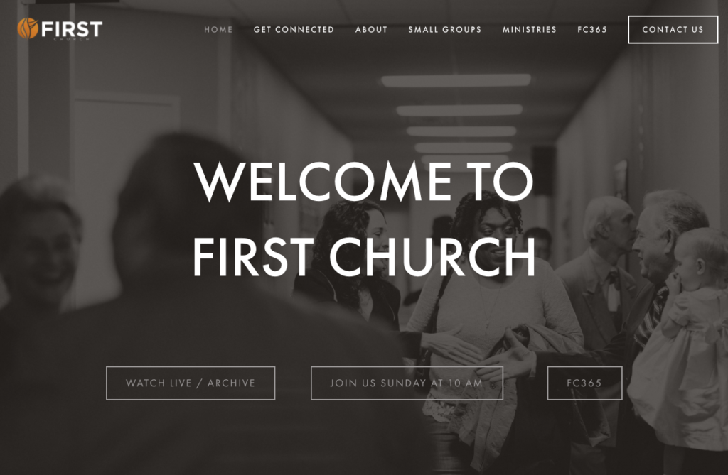 21 Best Church Websites-6