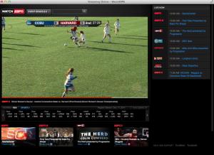 Wirecast on ESPN3