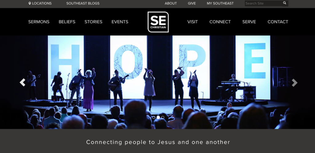21 Best Church Websites-10
