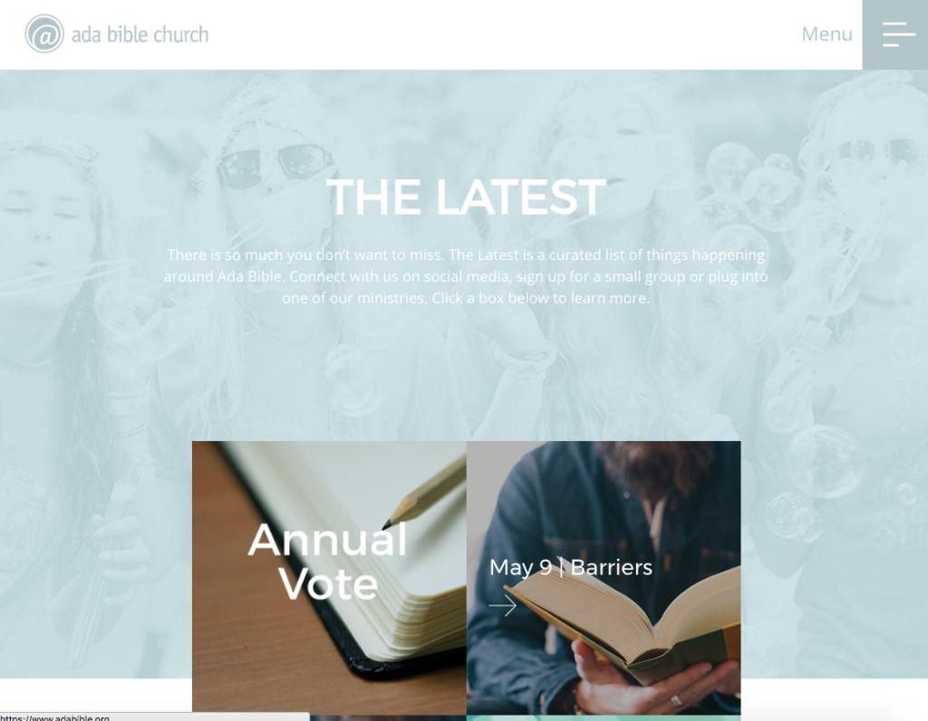 21 Best Church Websites-14