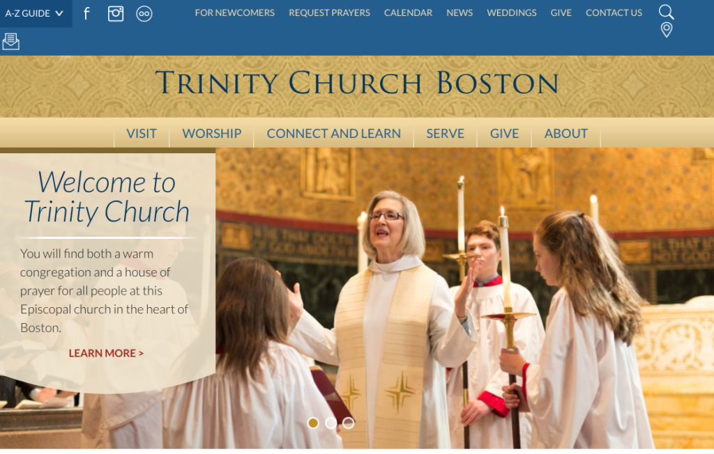 21 Best Church Websites-18